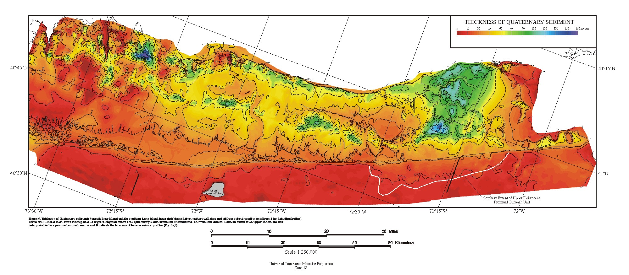 Nys Elevation Map.Usgs Open File Report 99 559 Stratigraphic Framework Maps Of The