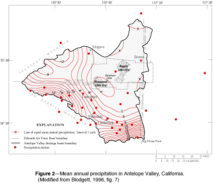 USGS OFR FloodProne Areas And Waterways Edwards Air - Edwards afb map