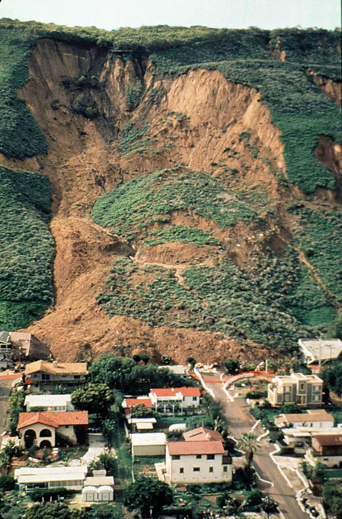 effects of landslides on environment