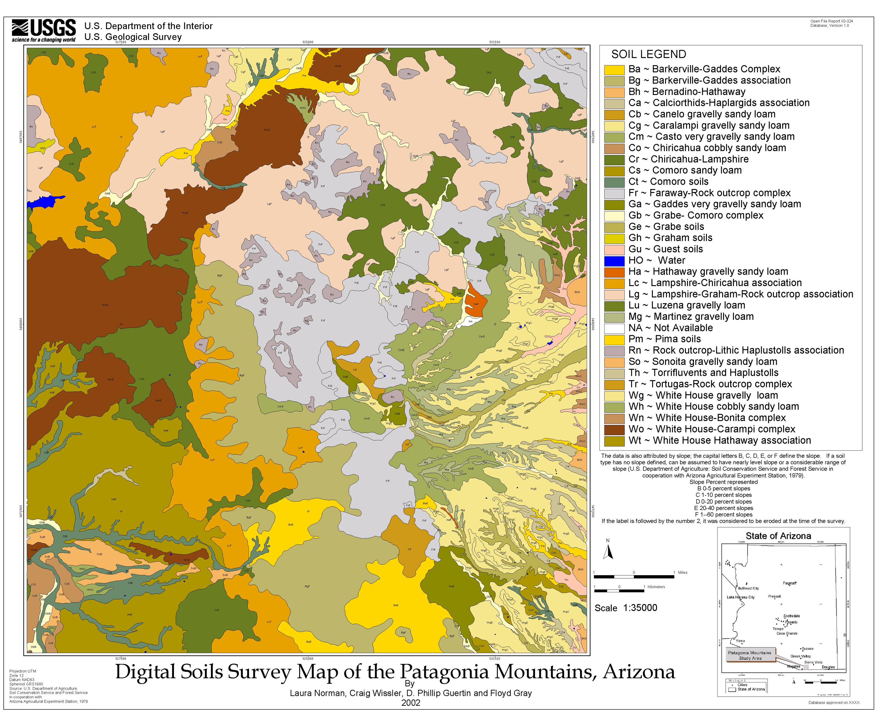 usgs open file report 02 324 digital soils survey map of the