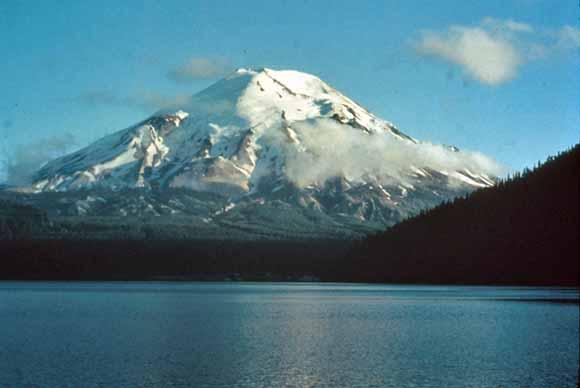 Mt St Helens Washington Map.Geologic Map Of Mount St Helens Washington Prior To The 1980 Eruption