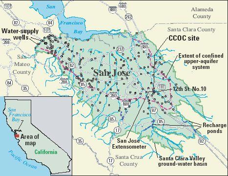 OFR - San jose water supply map