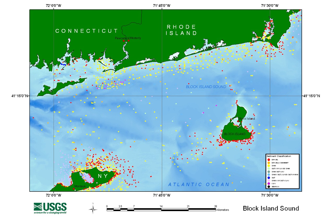 Block Island Map Pdf USGS Open File Report 03 001: Browse Maps