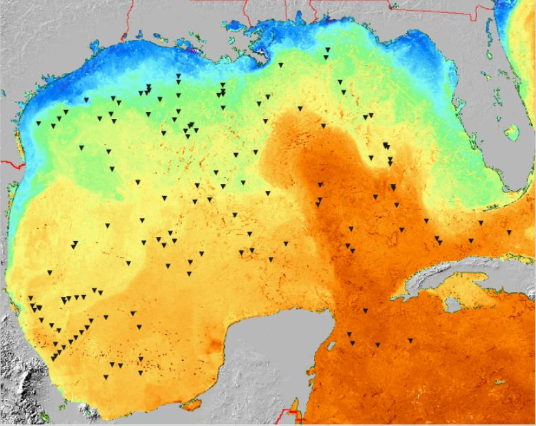 US Geological Survey OpenFile Report - Us water temperature map