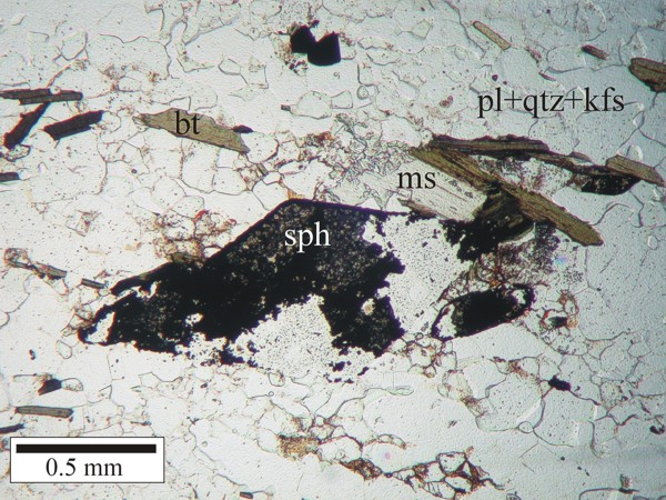 Usgs Ofr03 221 Thin Section Photomicrograph Of Sample