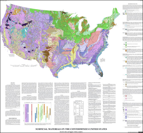 USGS OpenFile Report - Us map states only