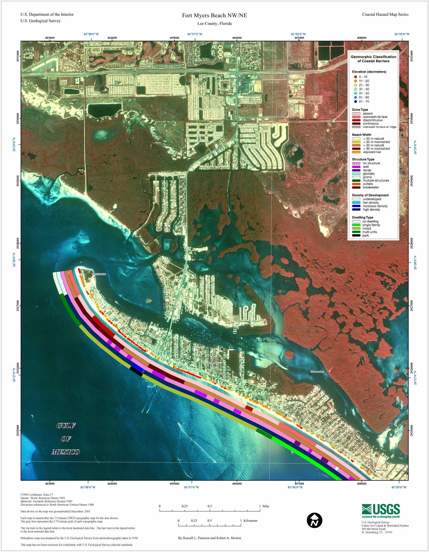 Fort Myers Beach Map on