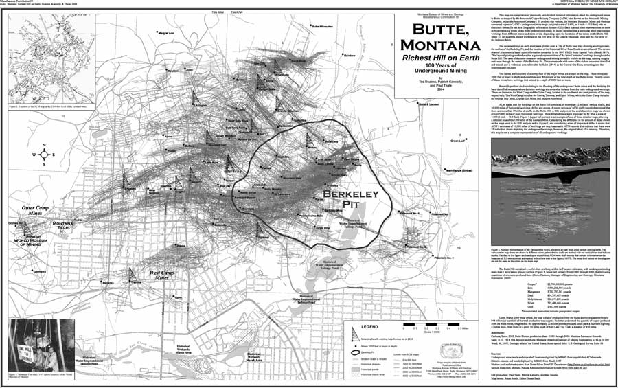 USGS OFR 20041451 Cartography at the Montana Bureau of Mines and