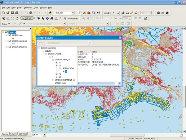 USGS OFR 2005-1428: LASED Geodatabase: A Tool to Manage