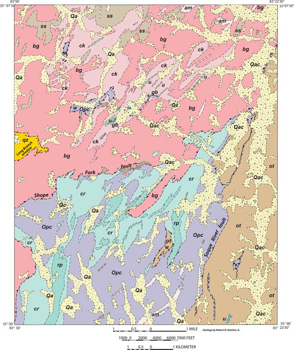 geology mapping dissertation example