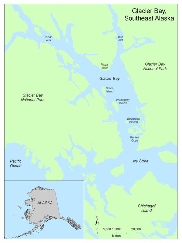 Geologic Characteristics Of Benthic Habitats In Glacier Bay