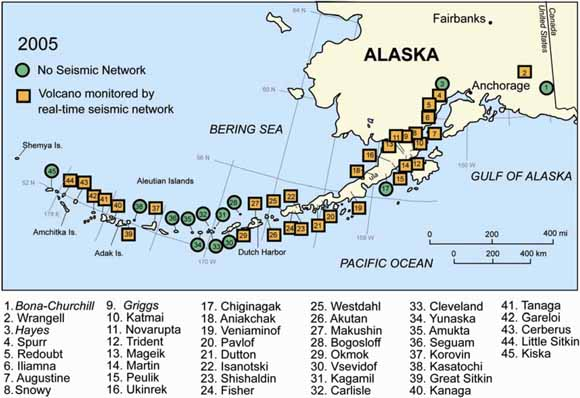 Catalog of Earthquake Hypocenters at Alaskan Volcanoes: January 1