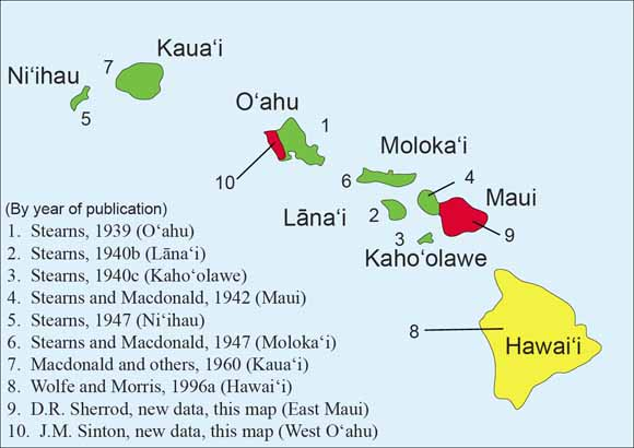 Geologic Map of the State of Hawaii