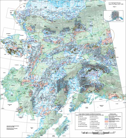 Geoscience For Alaskas D Lands A Preliminary Report - Usgs topo maps alaska