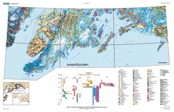 Kenai Peninsula Alaska Map.Digital Data For The Reconnaissance Geologic Map For Prince William