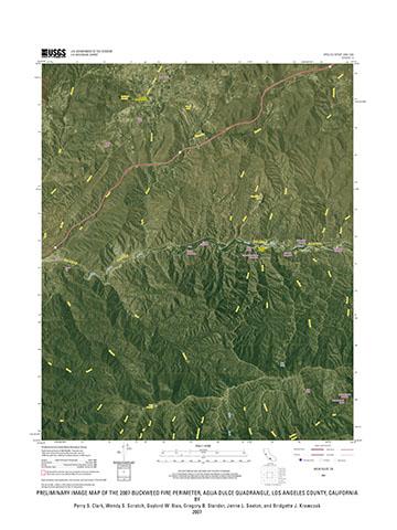 Agua Dulce California Map.Usgs Open File Report 2008 1029 Preliminary Image Map Of The 2007