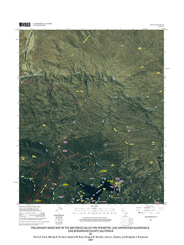 USGS Open-File Report 2008-1045: PRELIMINARY IMAGE MAP OF THE 2007 ...