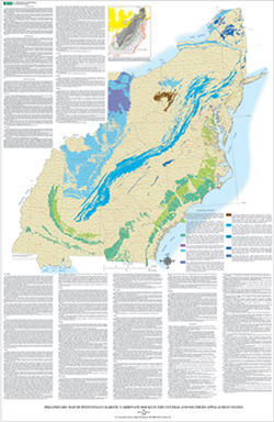 US Geological Survey OpenFile Report - Us karst map usgs