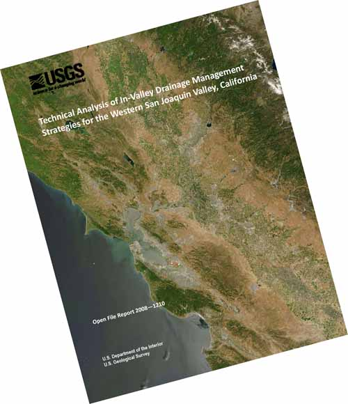 technical analysis of in valley drainage management strategies for the western san joaquin valley california