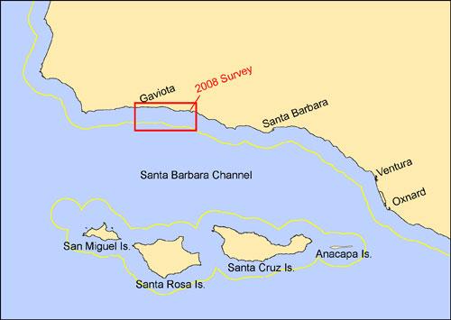 Santa Barbara California Map.Usgs Open File Report 2009 1289 Summary