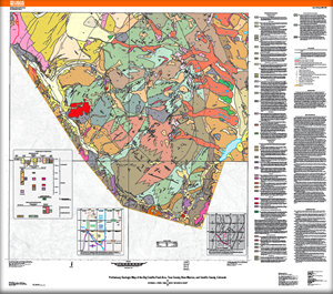 Usgs Open File Report 2012 1041 Preliminary Geologic Map Of The Big