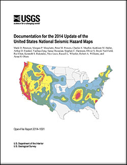 USGS OpenFile Report Documentation For The Update - Us seismic hazard map