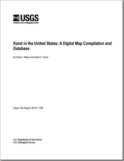 USGS OpenFile Report Karst In The United States A - Us karst map usgs