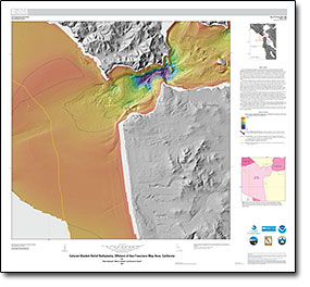 USGS OpenFile Report 20151068 California State Waters Map