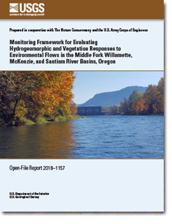 Environmental Flow Studies for Middle Fork Willamette, McKenzie, and