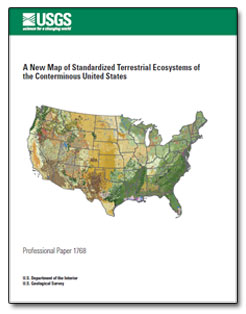A New Map Of Standardized Terrestrial Ecosystems Of The - Us ecosystems map
