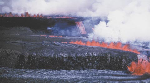 Magma Migration And Resupply During The 1974 Summit