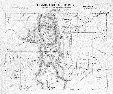 Historic Trail Map of the Leadville 1° — 2° Quadrangle Central Colorado