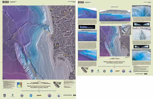 Multibeam Bathymetry And Selected Perspective Views