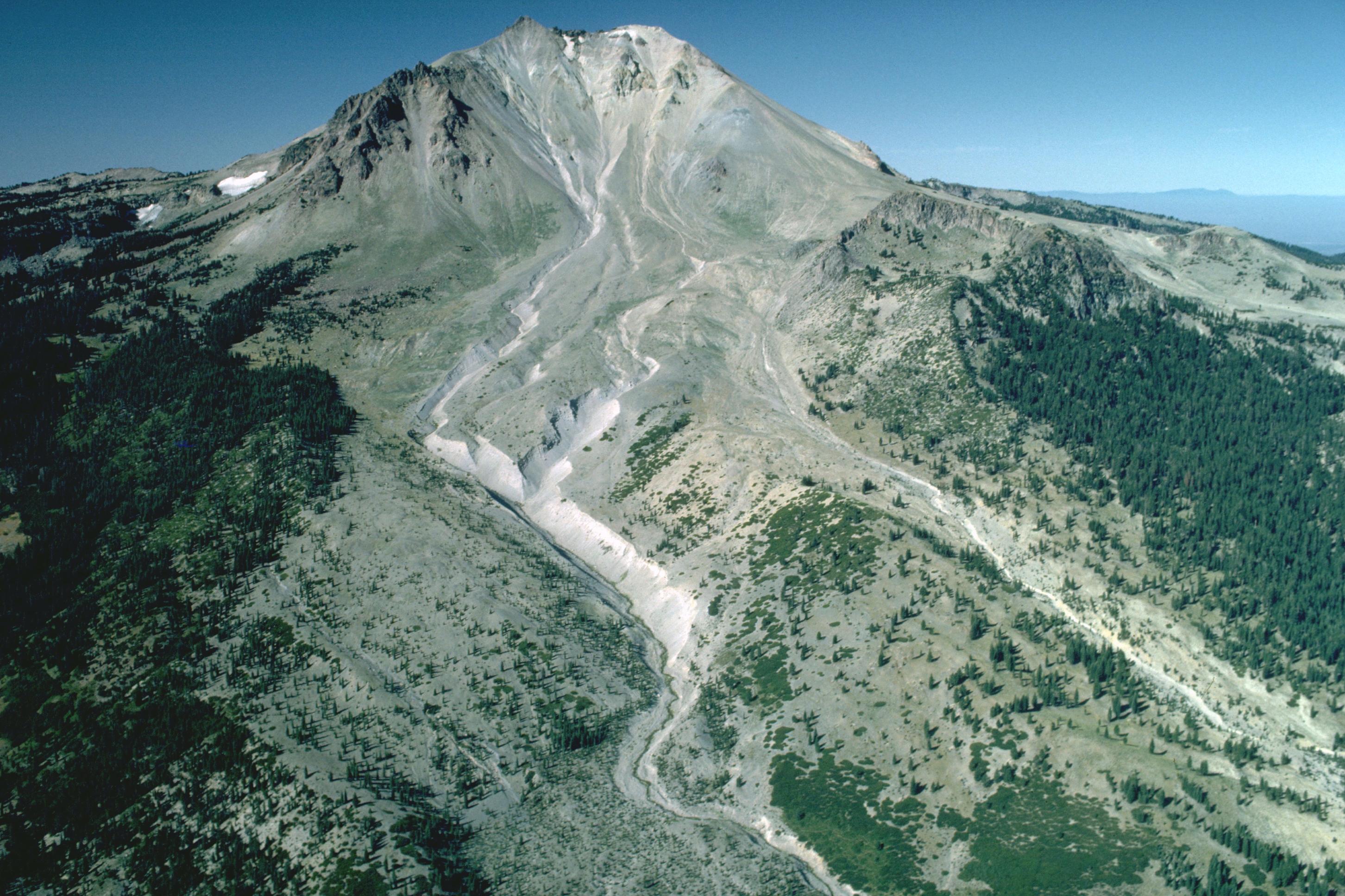 Aerial View Of Len Peak