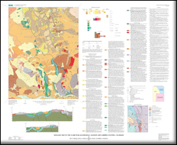 Jackson County Colorado Map.Usgs Scientific Investigations Map 3010 Geologic Map Of The Clark