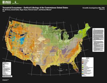 USGS Scientific Investigations Map 3126: Terrestrial ...