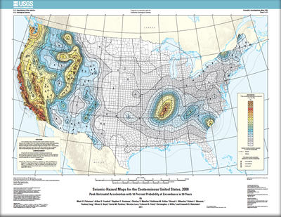 USGS Scientific Investigations Map 3195 SeismicHazard Maps for