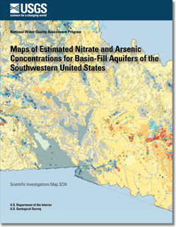 USGS Scientific Investigations Map 3234: Maps of Estimated Nitrate ...