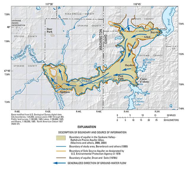 Compilation Of Information For Spokane Valley Rathdrum Prairie