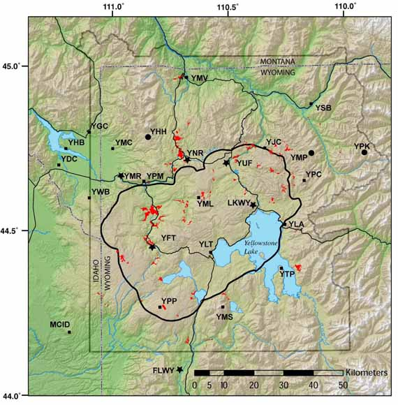 Volcano And Earthquake Monitoring Plan For The Yellowstone Volcano