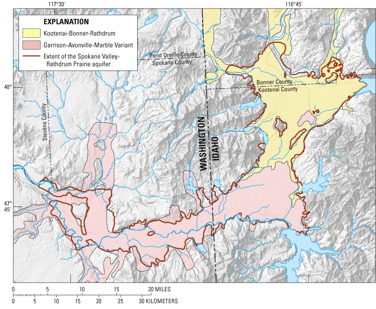 Assessment of Areal Recharge to the Spokane ValleyRathdrum Prairie