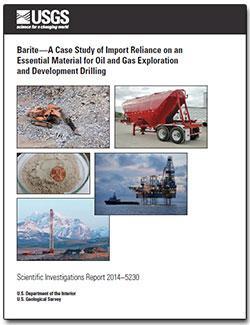 USGS Scientific Investigations Report 2014–5230: Barite—A