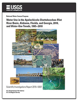 Water use in the Apalachicola-Chattahoochee-Flint River Basin, Alabama, Florida, and Georgia, 2010, and water-use trends, 1985-2010