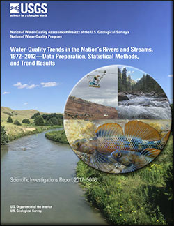 Water-quality trends in the nation's rivers and streams, 1972–2012—Data preparation, statistical methods, and trend results