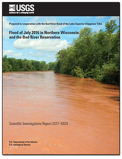Flood of July 2016 in northern Wisconsin and the Bad River Reservation