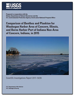Comparison of benthos and plankton for Waukegan Harbor Area of Concern, Illinois, and Burns Harbor-Port of Indiana non-Area of Concern, Indiana, in 2015