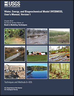 Water, Energy, and Biogeochemical Model (WEBMOD), user's manual, version 1